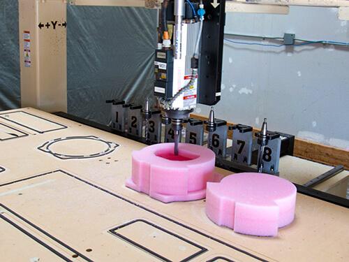 CNC Foam Contouring Cutting