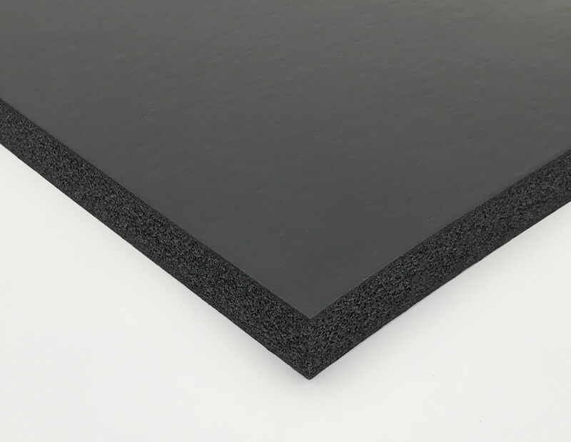 Black Closed Cell PVC Nitrile Foam