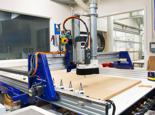 CNC Contour Cutting for Foam Packaging