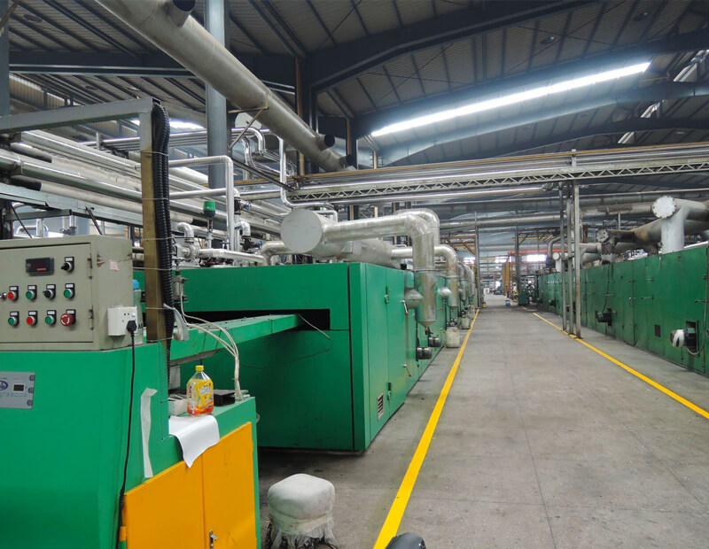 Closed Cell PVC Foam Production Line