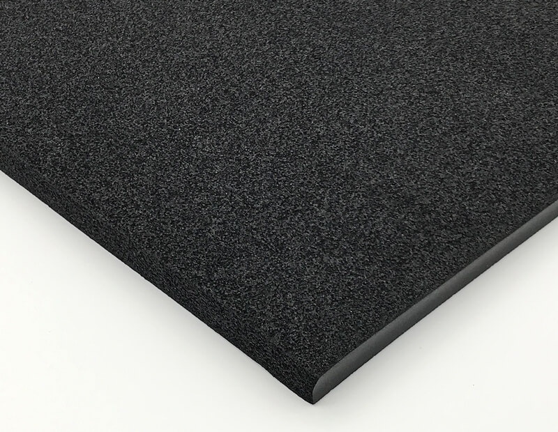 Closed Cell Vinyl Nitrile Foam Rubber Sheets without Surface Skin