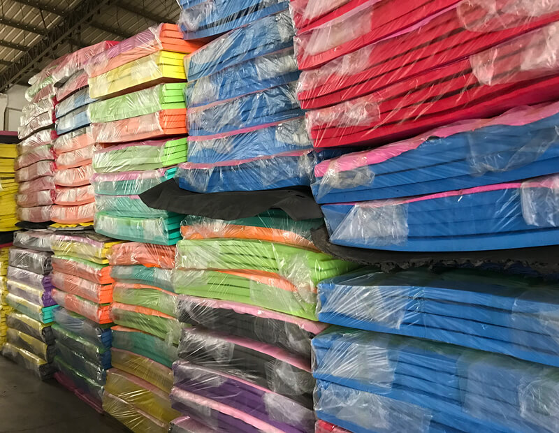 Colorful EVA Foam Sheet in Warehouse