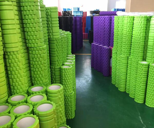 Custom Injection Molded Foam Rollers