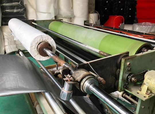 Foam Heat Embossing Process