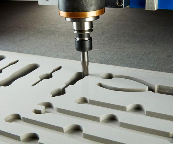 Foam Packaging Insert CNC Milling