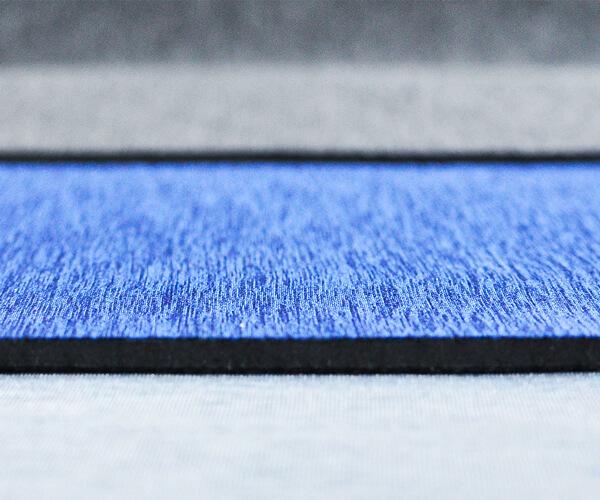 Foam Rubber Sheet with Fabric Backing