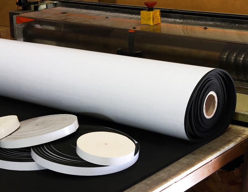 Foam Rubber Tape Converting