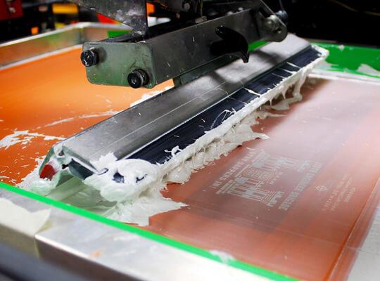 Foam Silk Screen Printing