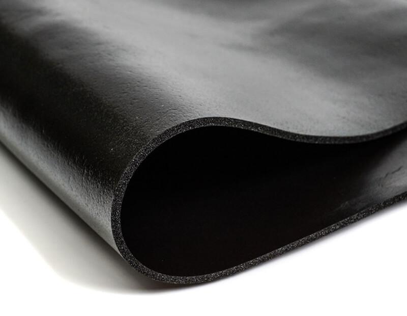 High Density Black PVC Foam Rubber Sheet