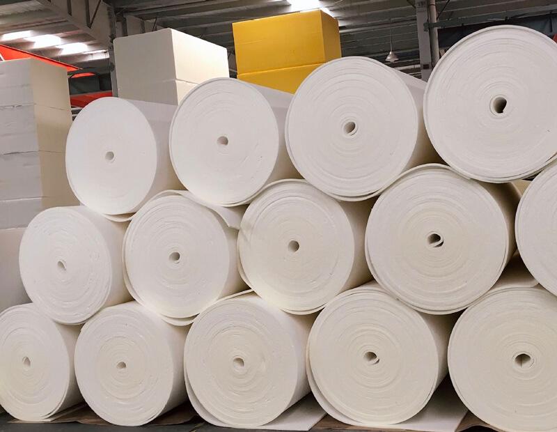 Large Polyurethane Foam Rolls