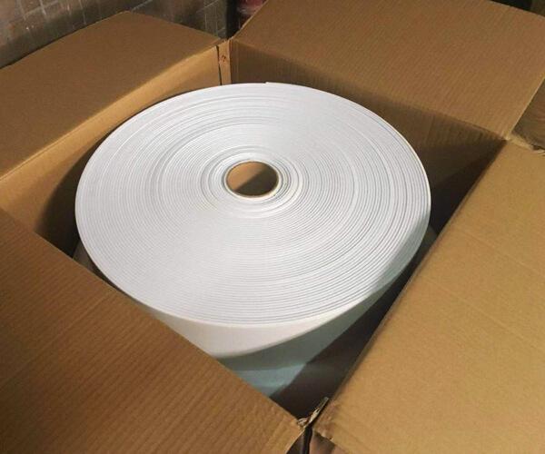 Large White Polyethylene Foam Tapes