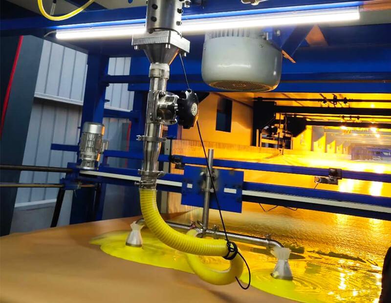 PU Foam Production Process