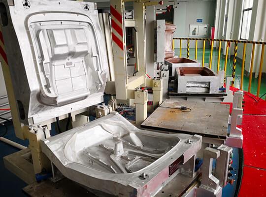 PU foam molded process