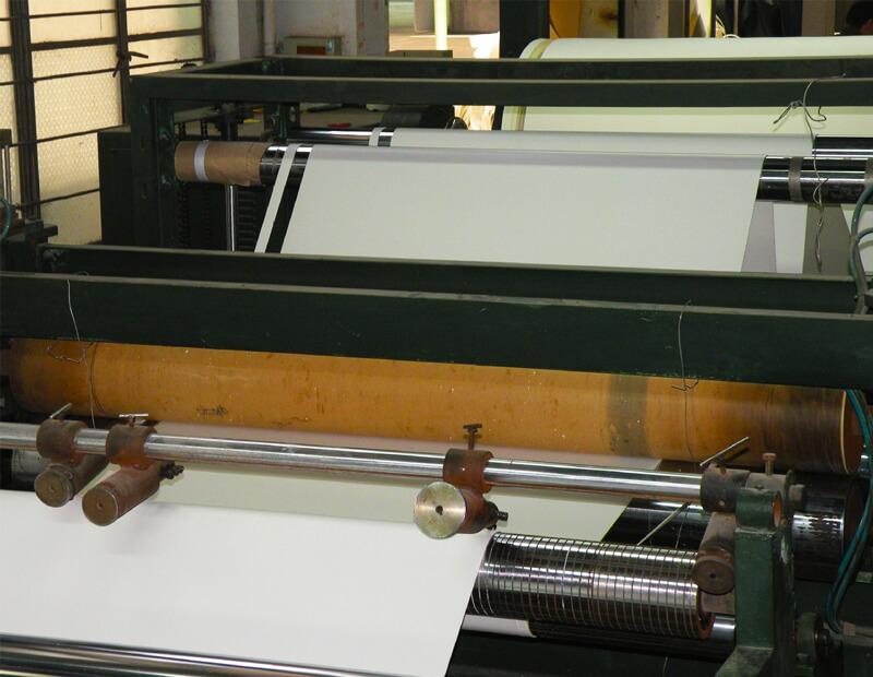 White Crosslinked Polyethylene Foam Roll Production