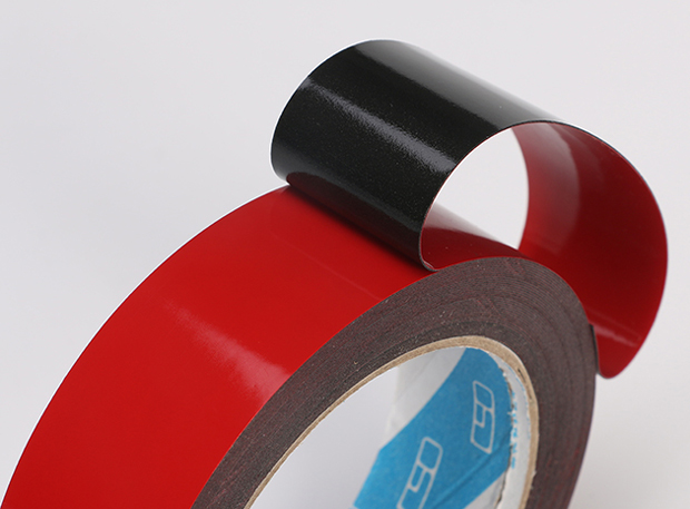 Cross linked Polyethylene Foam Tape with Red Liner Backing