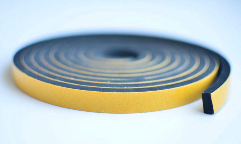Custom Foam Sealing Tape with Adhesive Back