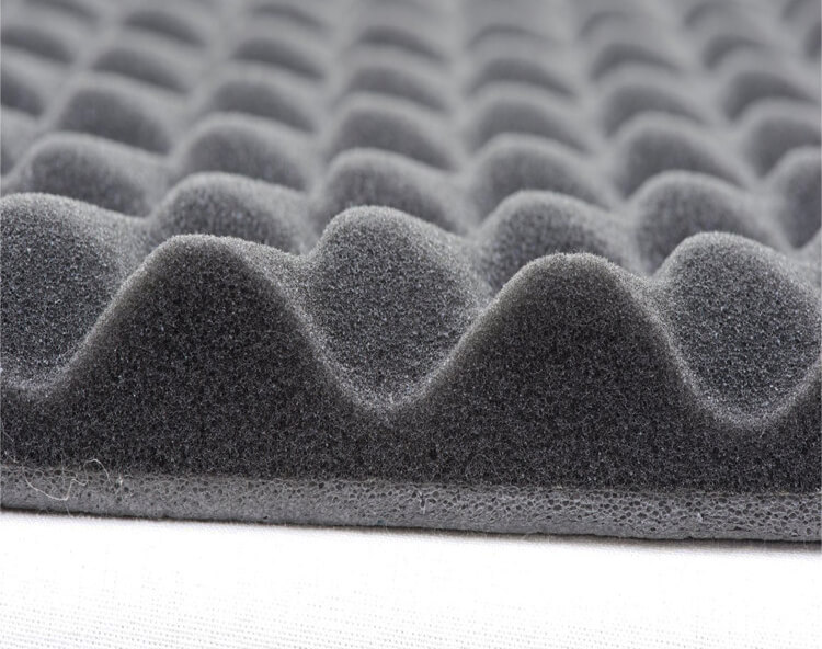 Egg Crate Foam for Noise Reduction and Cushion Supporting
