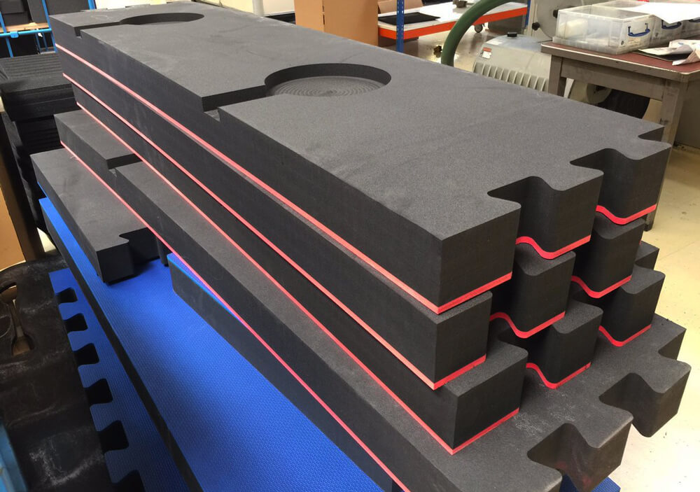 Custom Die Cutting Industrial Foam Parts