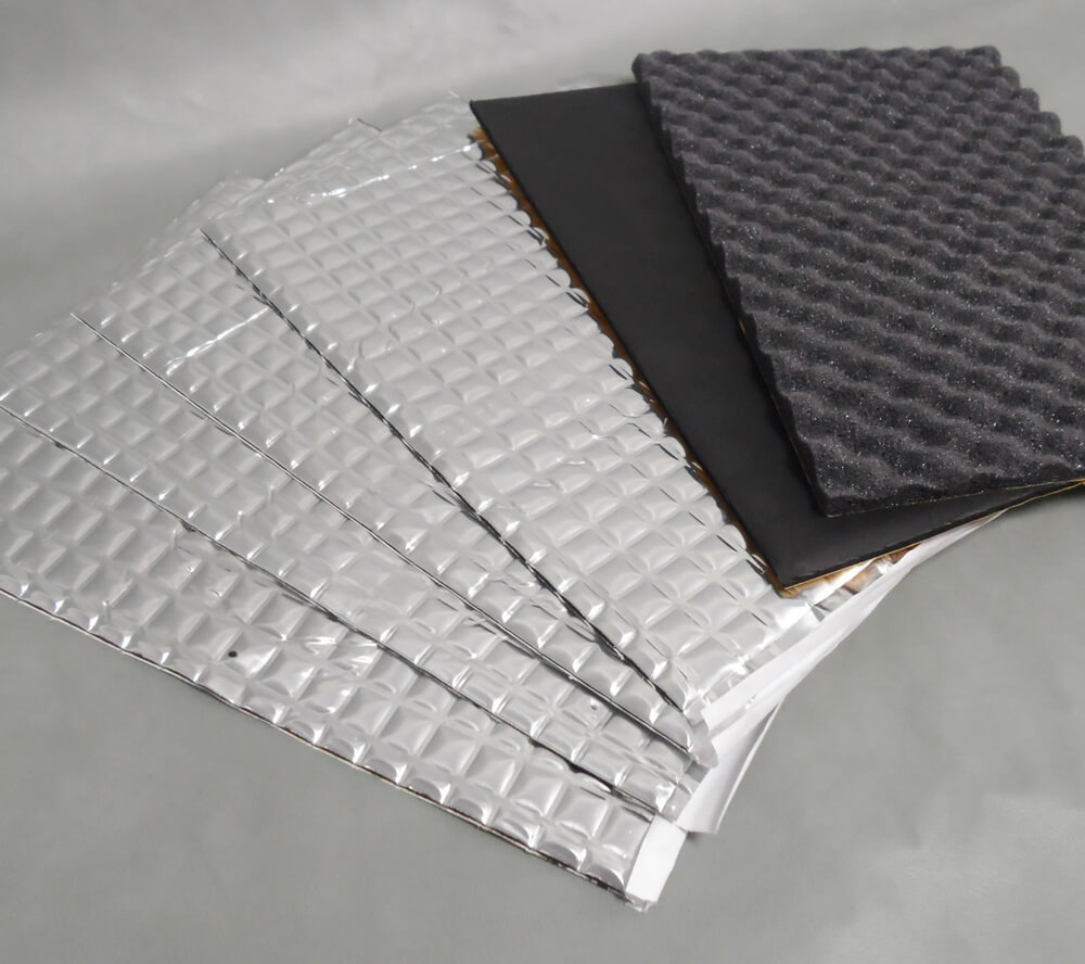 Industrial Foam Composite Parts with Insulation Adhesive Back